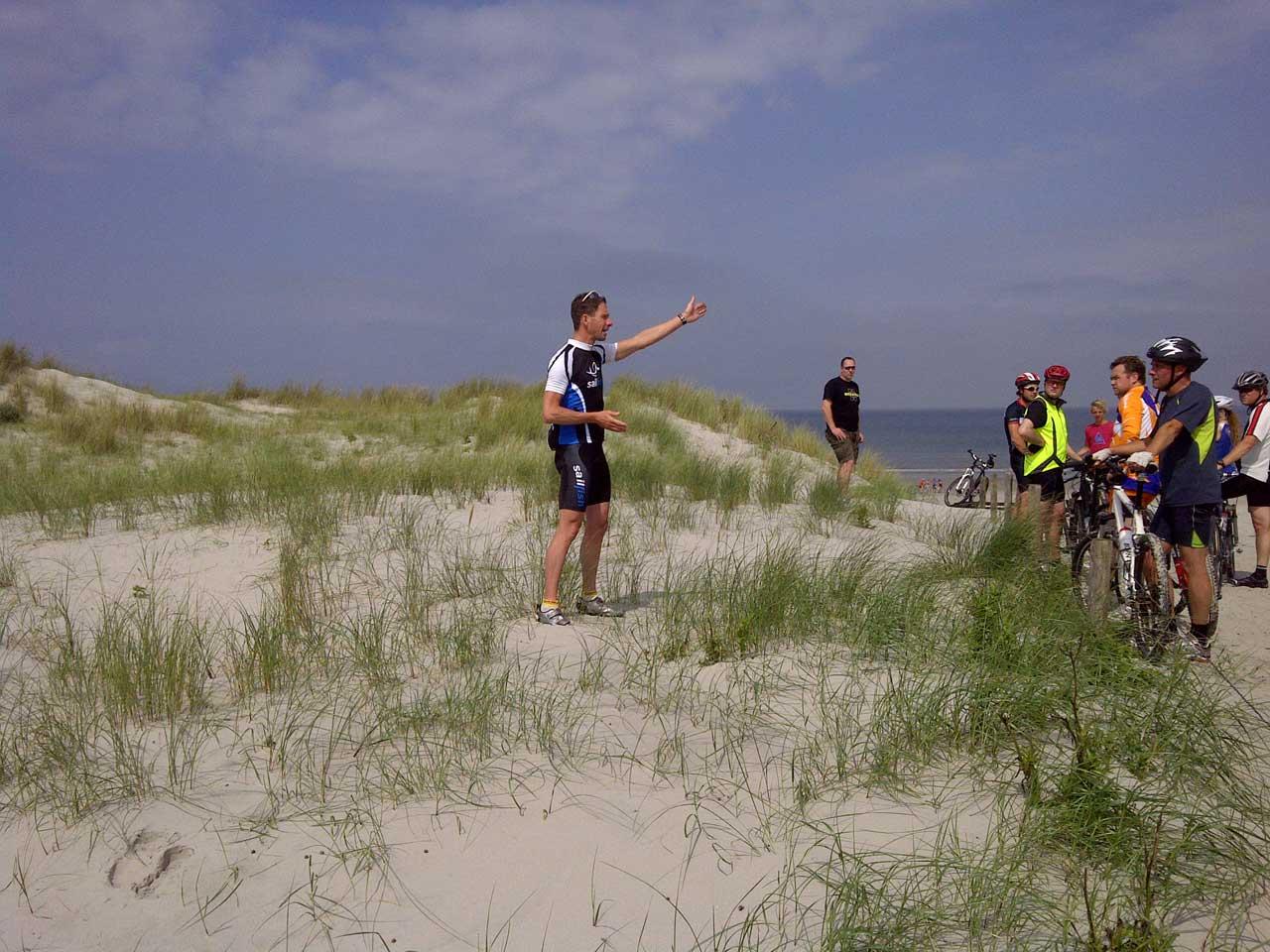 Mountainbike training gegeven door ervaren trainers.