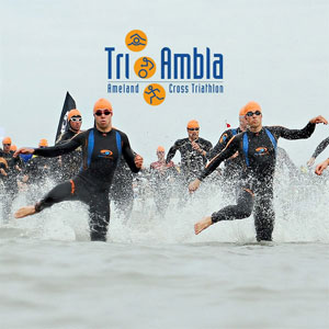 Tri-Ambla: foto van de start